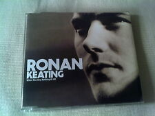 RONAN KEATING - WHEN YOU SAY NOTHING AT ALL - UK CD SINGLE