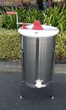 UPGRADE -Food Grade 3 Frame 304 Stainless Steel Honey Extractor