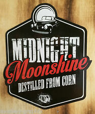 Oldschool Sticker Aufkleber Midnight Moonshiners Whiskey Moonshine USA Destille