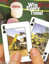 Equipment Brochure - Gehl - Product Line Overview - Skid Steer - 2004 (E1112)