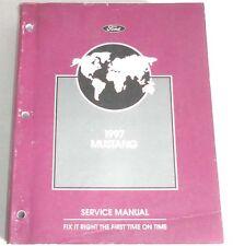 1997 FORD MUSTANG SERVICE REPAIR MANUAL