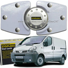 White Stoplock High Security Anti Theft Van Door Lock For Nissan Primastar