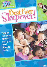 Best Ever Sleepover! (DVD, 2005) Ton of Ideas for your Kids to Do! WORLD SHIP