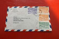 *Brief Beleg - Boliviennach Deutschland - Salzgitter 50-er Jahre (88)