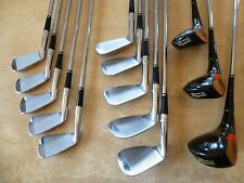 Full RH Wilson Sam Snead Blue Ridge Golf Clubs Set All Woods + All Irons MATCHED