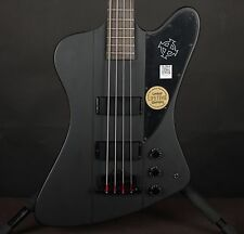 Epiphone Factory 2nd Gothic Thunderbird Satin Black Electric Bass Guitar S#0839