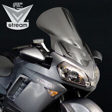 NATIONAL CYCLE VSTREAM V STREAM WINDSHIELD 08-13 KAWASAKI CONCOURS 1400 CLR TOUR