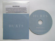 HURTS - WONDERFUL LIFE - RARE 1 TRACK PROMO CD