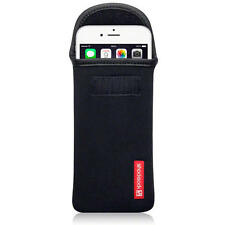 Bolsa De Neopreno Shocksock Negro caso para Apple iPhone 6 Plus/6S Plus