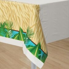 Safari Adventures Table Cover - Jungle Themed Birthday Party Supplies