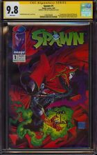 SPAWN 1 CGC 9.8 SS TODD MCFARLANE 1ST APP AL SIMMONS NEW MOVIE IN WORKS MINT HOT