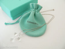 Tiffany & Co Platinum Large Huge Rock Crystal Cross Necklace Pendant Charm Chain