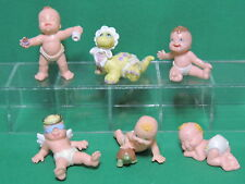 Lot 6 figurine Magic little Babies baby Dino Diaper Galoob Ideal Bébé Vintage