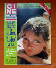CINE REVUE 1981 CINEMA ACTEUR ACTRICE HUPPERT SHIELDS BAYE SINATRA O'TOOLE REEVE
