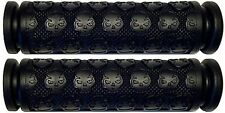 YAMAHA ATV GRIZZLY 400 450 550 660 700 BLACK THICK SKULL HANDLEBAR GEL GRIPS