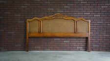 Headboard / Cane Headboard / French Provincial Bed / King/Cal King Headboard