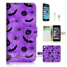 iPhone 6 (4.7') Flip Wallet Case Cover! P0601 Halloween