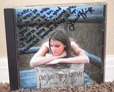 DID YOU THING TO PRAY Mormon CD LDS SIGNED by Lacie Kirk Come Thou Fount