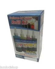 4 Colors CIS Ink Refill Kit for Epson CX7400/CX8400