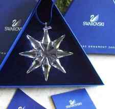 2009 Swarovski~Snowflake STAR Annual Christmas ORNAMENT~ NIB~ Large Triangle box