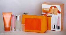Clinique Happy All Over Set EDP Perfume/Body Cream/Chubby Baby Tint 4pc Gift Set