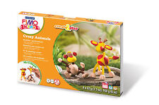 FIMO Kids Form & Play Crazy Animals Set Giraffe & Monkey Craft Level 3 Fun 06