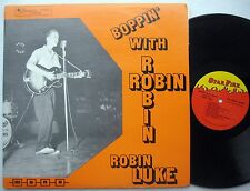 Boppin With Robin LUKE original Starfire compilation LP Rockabilly rarities CC