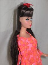 VINTAGE BARBIE REPO. DOLL TWIST & TURN LONG BROWN HAIR MINT BEAUTIFUL INTER WELC