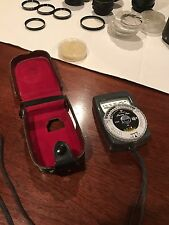 GOSSEN LUNA-PRO CAMERA EXPOSURE METER WITH CASE