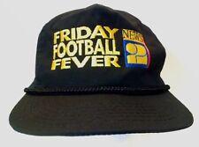 FRIDAY FOOTBALL FEVER HAT News 2 Vintage Snapback Black Designer Award cap rope
