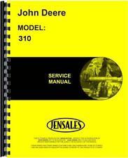 John Deere 310 Tractor Loader Backhoe Service Manual