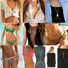New Fashion Jewelry Bikini Harness Waist Belly Link Body Chain Necklace