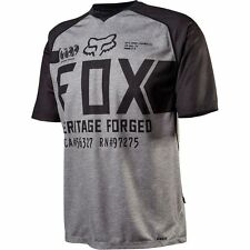 Fox Indicator Men's MTB Short-sleeve Jersey Heather Gray Large