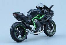 Hot Sale 1:18 Kawasaki H2R Motorcycle Diecast Model Maisto W/Base Model Toy Gift
