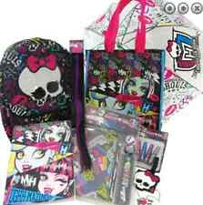 MONSTER HIGH SHOWBAG - BACKPACK, Stationery Set, Necklace, Umbrella, notebook
