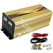 2000W Continuous 4000W Peak PURE SINE WAVE DC12V POWER INVERTER, DIGITAL DISPLAY