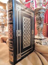 THE RUN  Easton Press  WOODS RARE SIGNED FIRST EDITION FINE