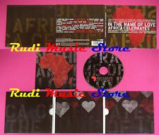 CD In The Name Of Love Africa Celebrates U2 Compilation no mc dvd vhs(C40)
