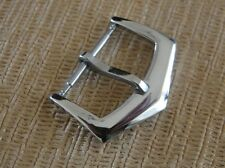 S/S Silver Buckle 18mm Strap End Wide Compatible With PP watch