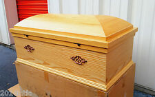 "34"" Elegant Eco-friendly Child/Pet Caskets-Wood Finish CB007"