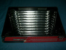 NEW Snap-on™ 10 thru 19 mm 12-point box open Ratchet Combo Wrench SET OXRM710