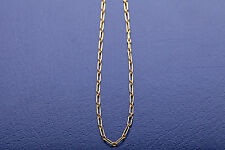 Vintage Cartier Signed FANCY LINK 18k Yellow Gold Necklace