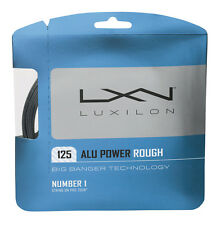 Luxilon BIG BANGER ALLUMINIO POWER ROUGH 1,25 mm 16L Tennis Stringhe Set