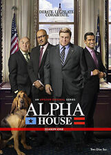 Alpha House Season One 1 (DVD, 2014, 2-Disc Set) - Brand New - In Stock