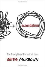 Essentialism: The Disciplined Pursuit of Less by Greg McKeown [ Hardcover ] NEW