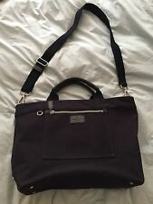 Banana Republic Navy Tote Document Book Beach Bag