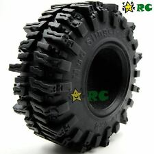 "4pcs RC 1/10 124mm Crawler Soft Tires Tyre W/ Foam for 2.2"" Beadlock Rims Wheels"