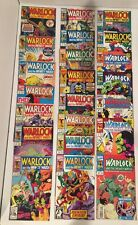LOT OF 59 WARLOCK INFINITY WATCH #1-42 + CHRONICLES #1-8 COMPLETE SETS + MINIS