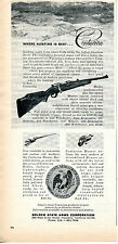 1965 Print Ad of Golden State Arms Centurion Rifle Shoshone River Cody Wyoming