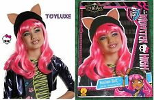 Monster High HOWLEEN WOLF w/ Hat & Ears DressUp CHILD WIG Halloween Costume Hair